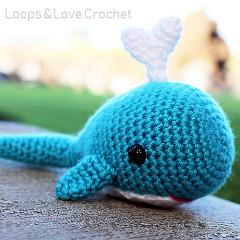 Whale Amigurumi Free Crochet Pattern