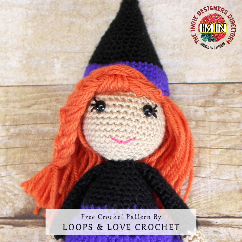 Witch Doll Halloween Crochet Idea