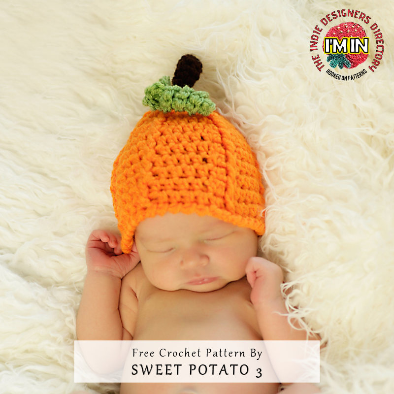 Kids Pumpkin Beanie