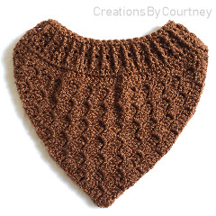 Acorn Cowl Free Crochet Pattern