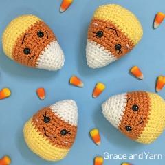 Amigurumi Candy Corn Free Crochet Pattern
