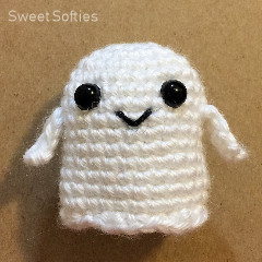 Baby Ghostie Free Crochet Pattern