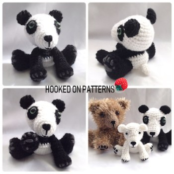 Mei the Panda and Friends Crochet Pattern