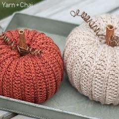 Free Rustic Pumpkin Crochet Pattern