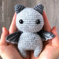 Sir Batwington Free Bat Crochet Pattern
