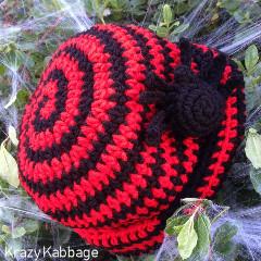 Spider Beanie Free Crochet Pattern