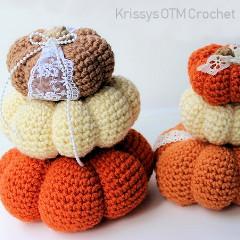 Stacking Pumpkins Free Crochet Pattern