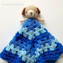 Puppy Lovey Free Crochet Pattern