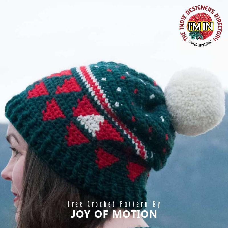 Free Christmas Hat Crochet Pattern
