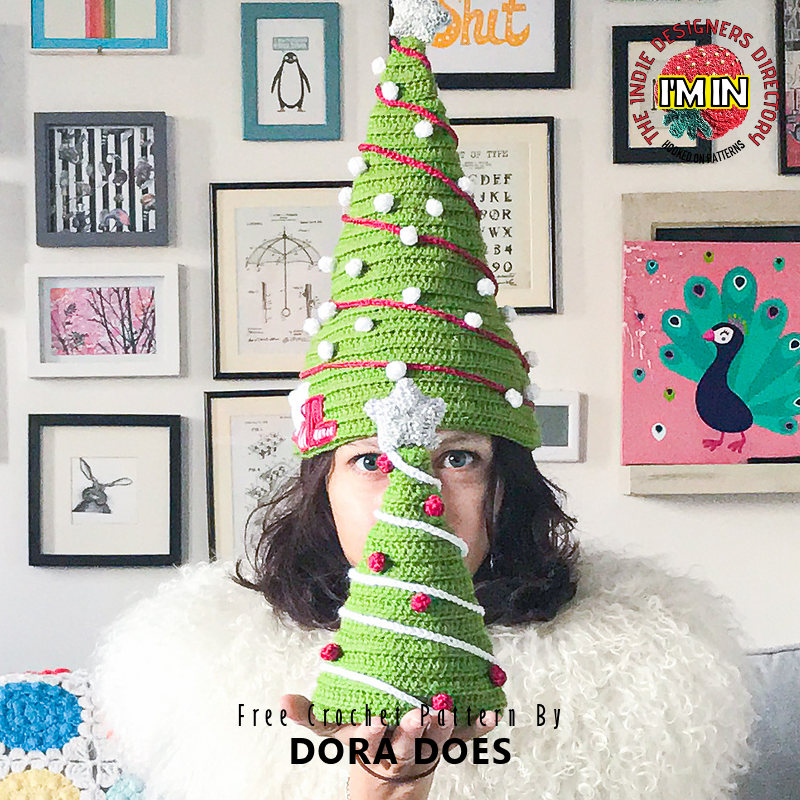 Free Christmas Hat Crochet Pattern