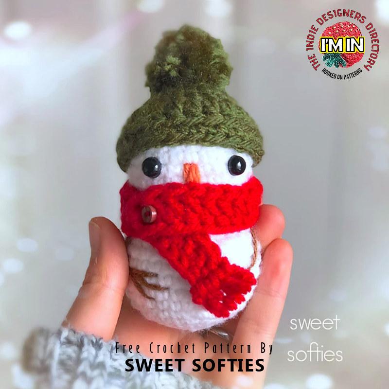 Free Snowman Crochet Pattern
