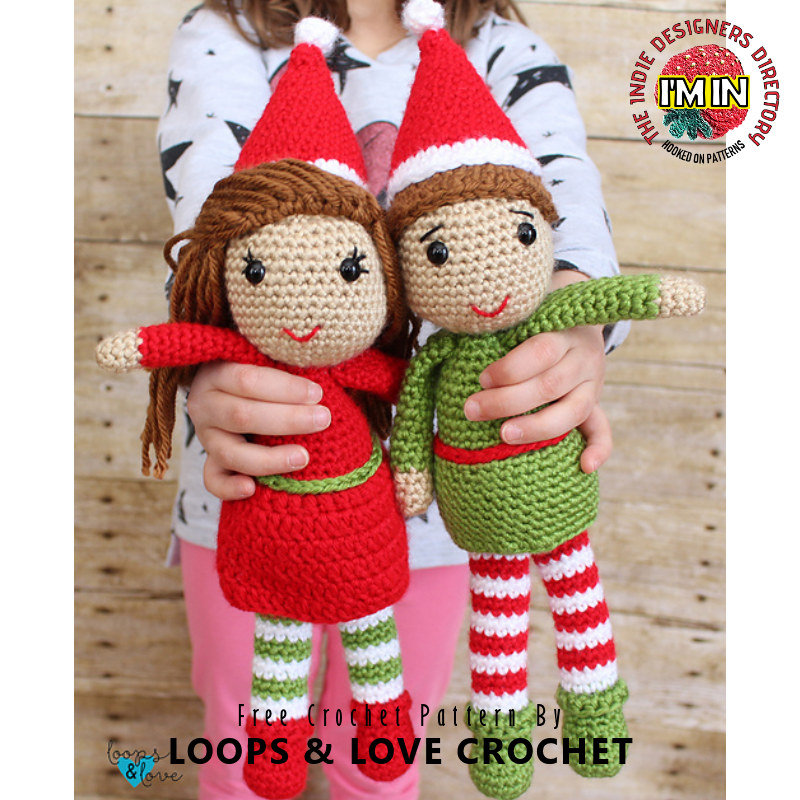 Free Elves Christmas Crochet Patterns