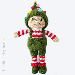 Ollie the Elf Free Crochet Pattern