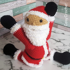 Posable Santa Free Crochet Pattern