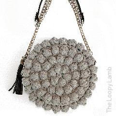 Bobblelicious Bag Free Crochet Pattern