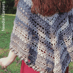 Wishing Well Shawl Free Crochet Pattern