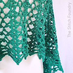 Atomic Spring Wrap Free Crochet Pattern