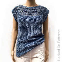 Aviva Summer Top Free Crochet Pattern