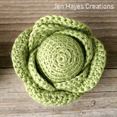 Cottage Garden Cabbage Free Crochet Pattern