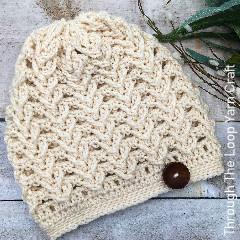 Sheridan Ridge Slouchy Hat Free Crochet Pattern