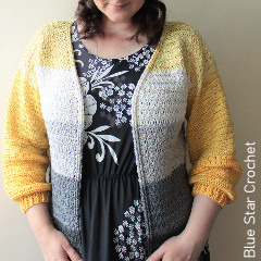 Gap Year Cardigan Free Crochet Pattern