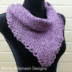 Never Ending Story Shawl Free Crochet Pattern