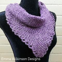 Never Ending Story Shawl Free Crochet Pattern