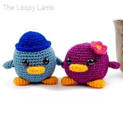Bob and Betty Bird Free Crochet Pattern