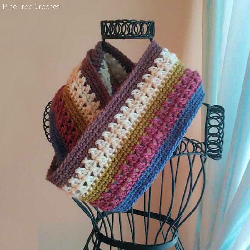 Easy Infinity Scarf Free Crochet Pattern