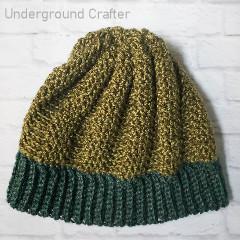 Beanie With A Twist Free Crochet Pattern