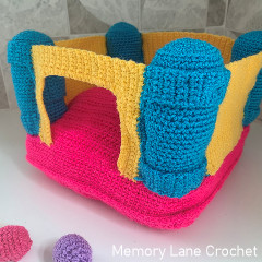 Bouncy Castle Toy Free Crochet Pattern