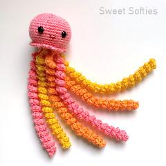 Juniper the Jellyfish Free Crochet Pattern