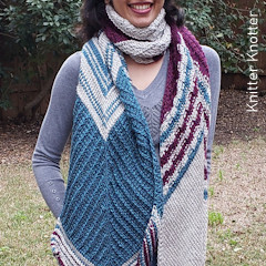 Prerna Tunisian Scarf Free Crochet Pattern