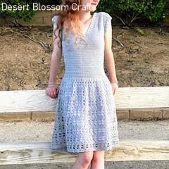 Parisian Dress Free Crochet Pattern