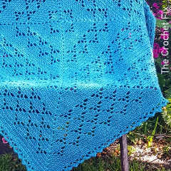 First Born Love Blanket Free Crochet Pattern