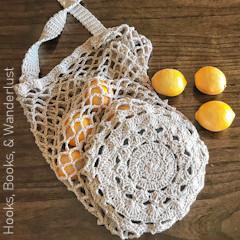 The Marigold Market Bag Free Crochet Pattern