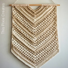 The Willow Wall Hanging Free Crochet Pattern