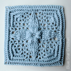 A thumbnail photo of the Friendship Star Granny Square free crochet pattern