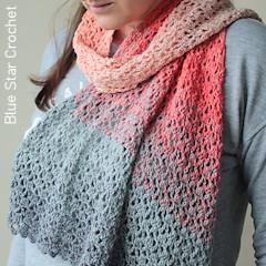 A thumbnail photo of the Painswick Shawl free crochet pattern