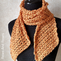 A thumbnail photo of the SUNday Scarf free crochet pattern