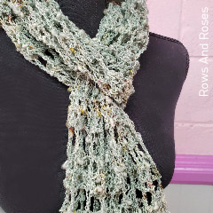 Thumbnail image of the Shipwrecked Scarf free crochet pattern