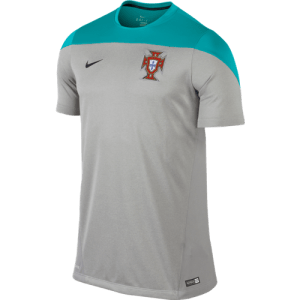 Portugal 2014 Squad Training Gray Top