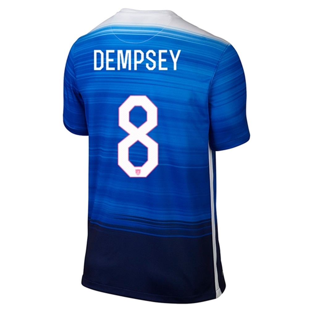 9f94af878 USA Away 2015 DEMPSEY Jersey – Hooked on Soccer