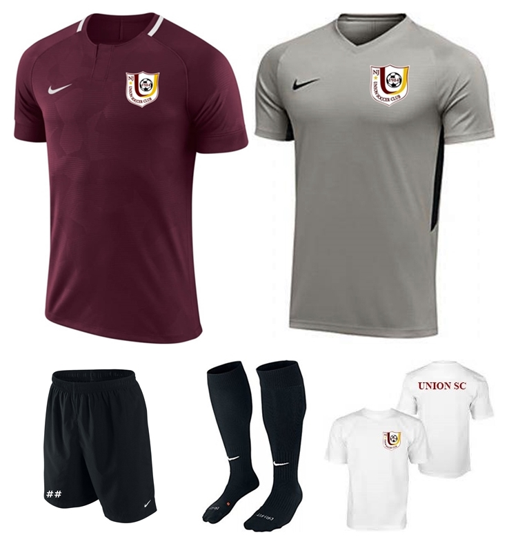 ec7d672c4 Union Soccer Club Uniform Set – Hooked on Soccer