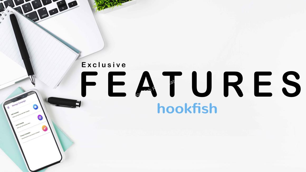 Hookfish exclusive feature for real estate agents ?