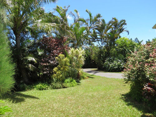 Maui Cottage Garden View