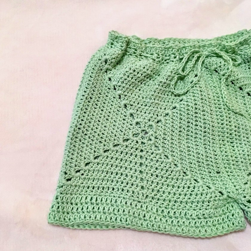 Minty Fresh Shorts Pattern Hookyarncarabiner