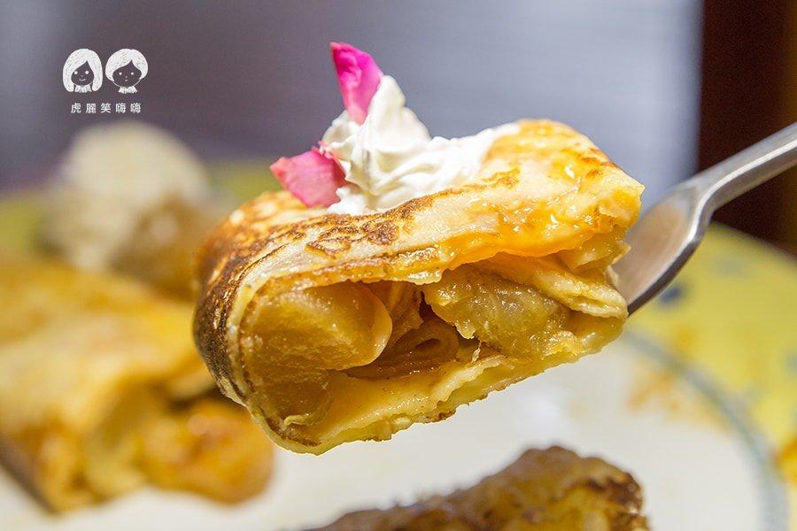 亞力的家法式薄餅(高雄美食)甜蜜約會!愛上焦糖蘋果法式薄餅