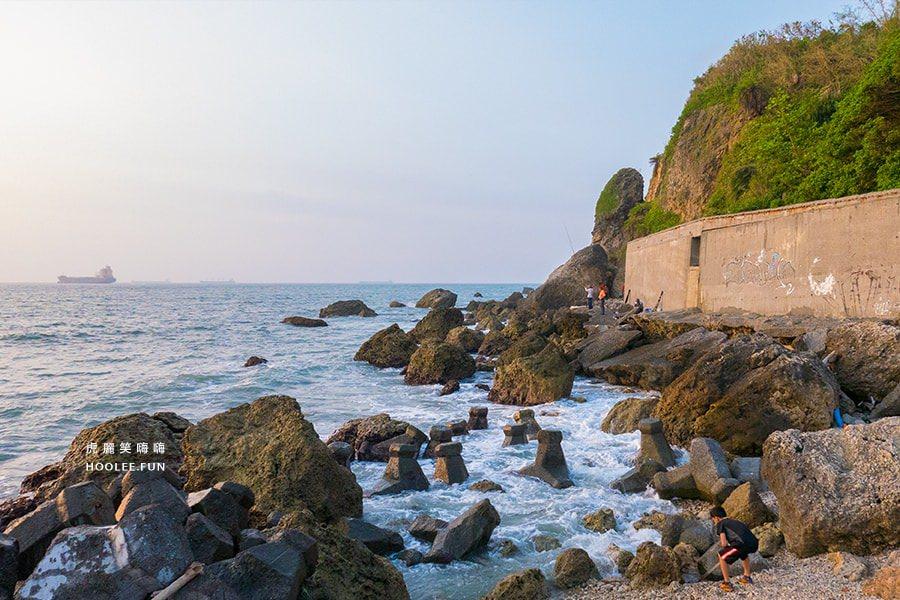 流浪吧 西子灣 海景 夕陽 情侶約會