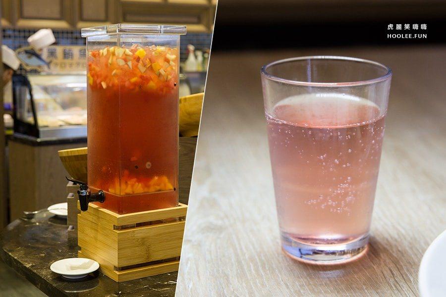 阿雷佐牛排館 皇家金宸大飯店 自助餐 晚餐單點沙拉吧 TWD580/大人 雞尾酒
